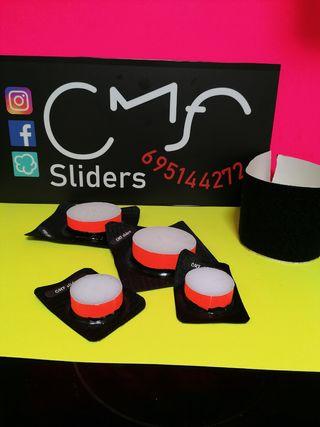 Kit sliders rodilla + codo