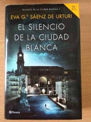 Libro 'El silencio de la ciudad blanca'