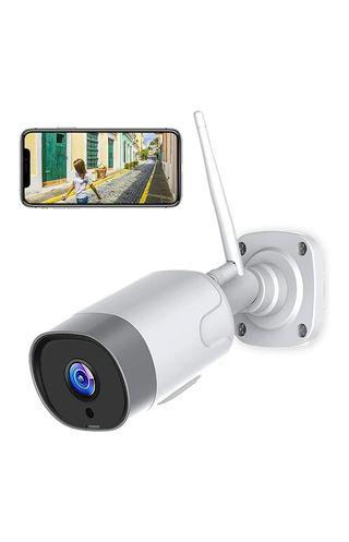 cámara de seguridad para exterior sin estrenar