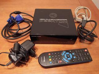 Reproductor Grabador Multimedia HD + 1TB