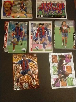 Ronaldinho cromos