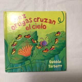 """Libro """"10 orugas cruzan el cielo"""""""