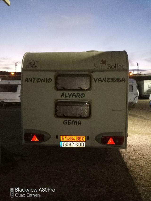 caravana autonoma sun roller jazz 490