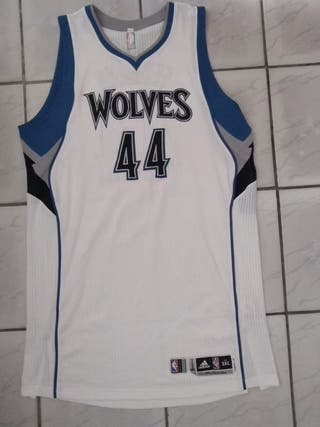 Camiseta baloncesto Wolves Fesenko Match worn