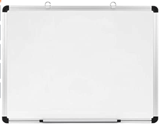 Pizarra blanca magnética 60 x 45