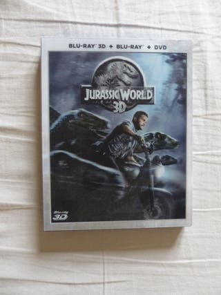 JURASSIC WORLD (3D + BLU-RAY + DVD)