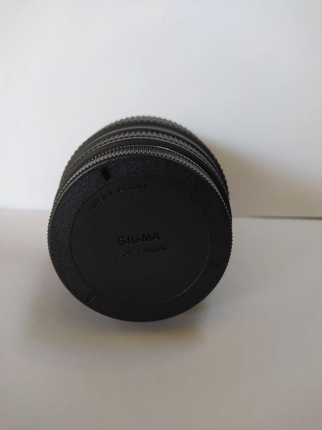 Objetivo Sigma 70-300 Canon