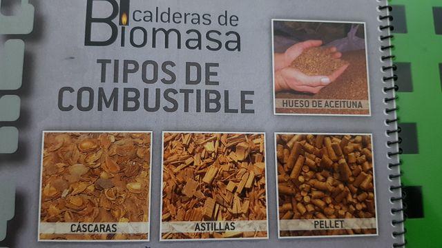 caldera biomasa POLICOMBUSTIBLE última generación