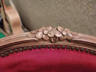 Silla clásica estilo Luis XV