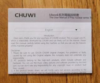 Portátil 2 en 1 Chuwi UBook 8 RAM 256 SSD