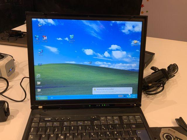 Portátil IBM ThinkPad T41 1,6Ghz y Windows Xp