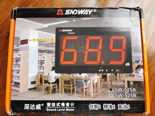 Medidor de nivel de sonido Digital SNDWAY 30 A 130