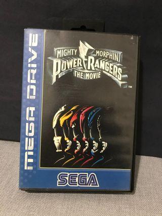 Juego Power Rangers Sega Mega Drive