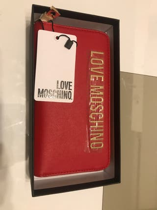 Cartera I love Moschino