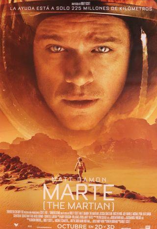 Póster película Marte