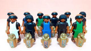 Playmobil EGIPCIOS CON VASIJA . UNIDAD 4'5€