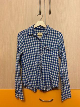 Camisa cuadros Hollister