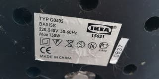 Lámpara de pie Ikea de intensidad regulable