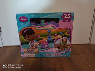 Puzzle goma Eva Doctora juguetes