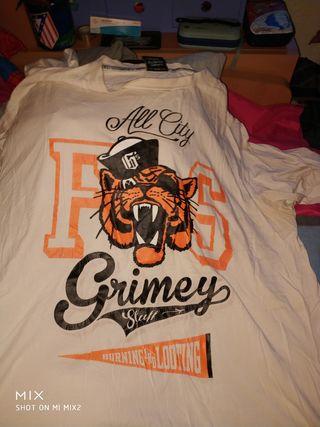 Camiseta Grimey tigre talla 3xl