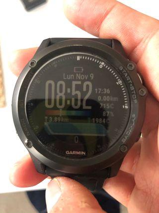 Reloj Garmin Fenix 3 HR Sapphire Edition