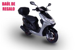 Moto 125 cc Sumco S-Joy y Baúl de Regalo 28L