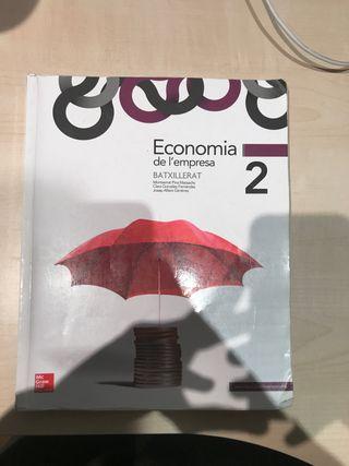 Llibre economia de l'empresa 2n Bat