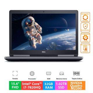 Dell Precision 7520 - Core i7 - 32GB RAM - 1TB SSD