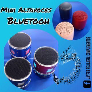 Mini altavoces bluetooh