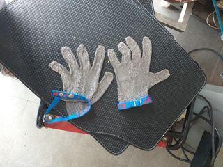 guantes de carnicería