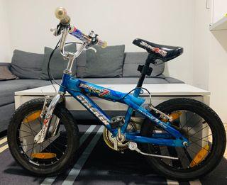 Avigo - Bicicleta Neon 16 Pulgadas Azul