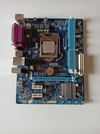 placa base gigabyte ga-h61m-ds2