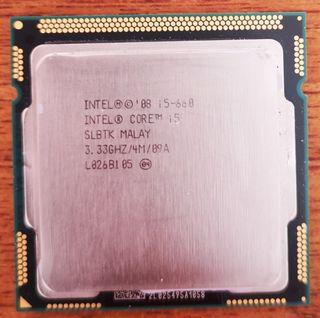Procesador cpu I5 660 3,33ghz/4m socket 1156