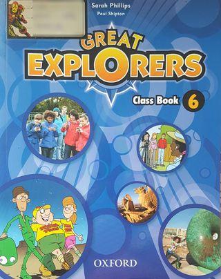 Great Explorers Inglés 6°Primaria OXFORD