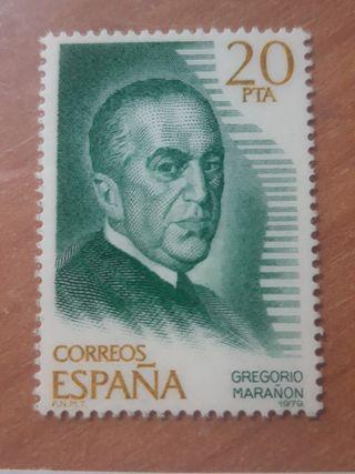 Sello Gregorio Marañón