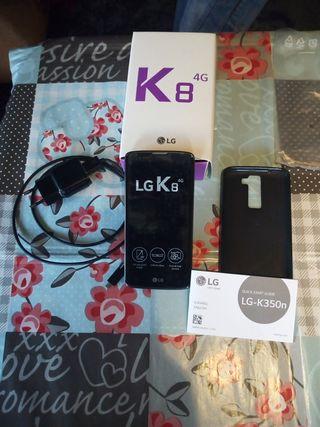Teléfono LG K8 4G. Como nuevo