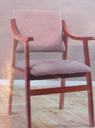 sillón con brazos