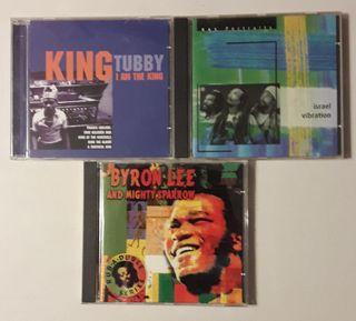 LOTE 3 CDS REGGAE