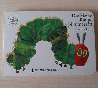 La pequeña oruga glotona, en alemán