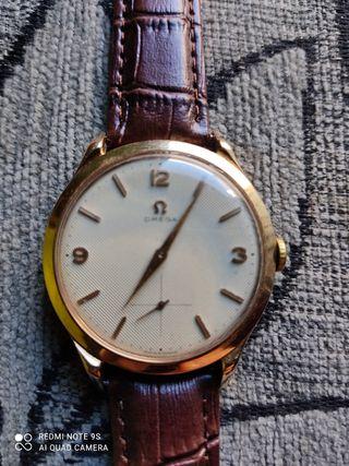 reloj omega oro 18