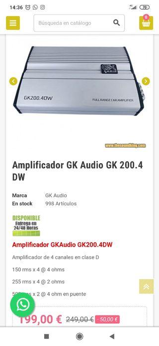gk audio 200.4