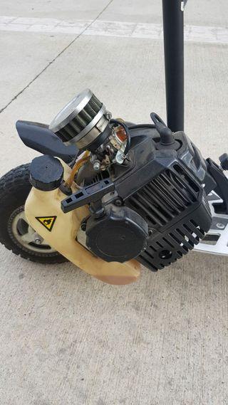 patinete gasolina 49cc