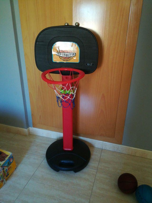 canasta baloncesto