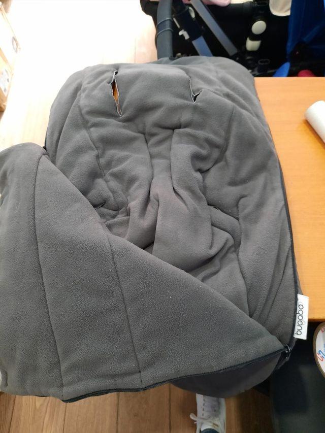 saco bugaboo gris oscuro