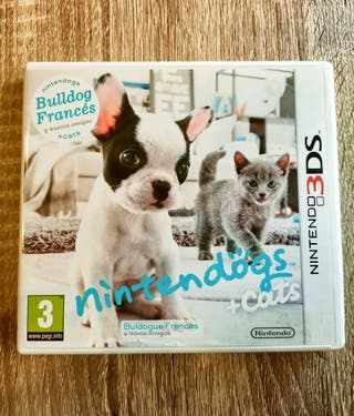 Nintendogs + Cats: Bulldog Edition 3ds