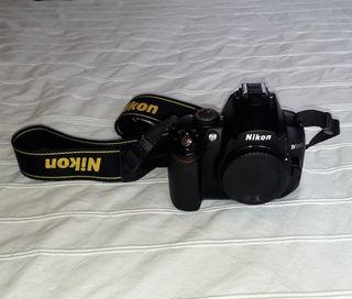 Cuerpo camara Nikon d5000