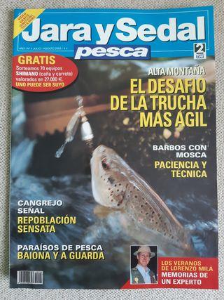 Revista Jara y Sedal Pesca N°4 Julio / Agosto 2003