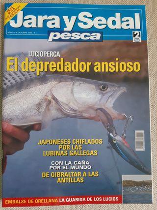 Revista Jara y Sedal Pesca N°6 Octubre 2003