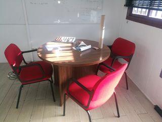 Set mesa sillas oficina