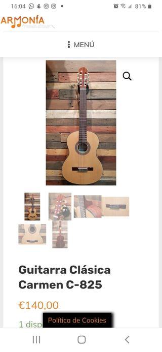 guitarra española Carmen